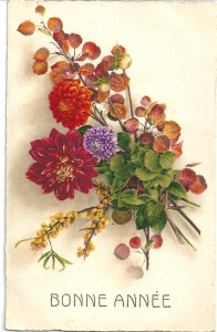 Carte de Voeux envoyée par Jules Chaperon de Paris le 6 janvier 1931