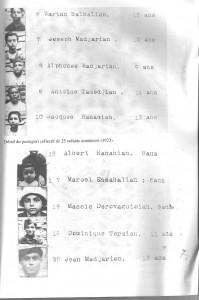 Copie du passeport collectif établi pour le rapatriement des orphelins