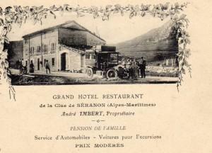 Hotel Imbert à Séranon