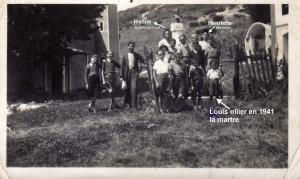 1940 louis ollier à la martre 8 ans